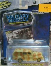 WWII Chevrolet Staff Car 1:64 Military Muscle Johnny Lighting / Box 96