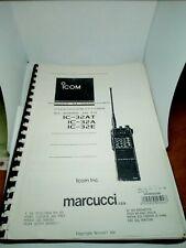 ICOM IC-32AT IC-32A IC-32E MANUALE D'ISTRUZIONE ITALIANO BROCHURE RADIO HF
