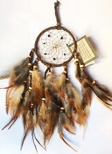 Capteur de rêves (diamètre 10cm )AMERINDIEN HURON 5 Nations Canada