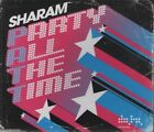 SHARAM Party all the time 2TRACK CD NEW - NOT SEALED