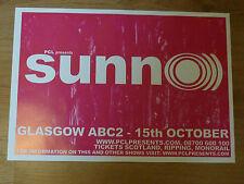 Sunn O))) - Glasgow oct.2006 tour concert gig poster