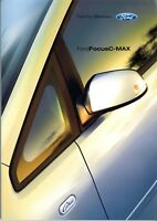 Ford Focus C-Max Prospekt 2006 4/06 Autoprospekt brochure prospectus brosjyre