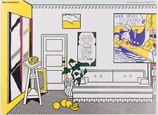 Artist's Studio, Look Mickey, 1973 by Roy Lichtenstein Original Poster 26.5x36.5