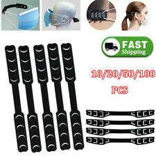 10-100X Face Mask Extension Hooks Buckles Straps Extender Ear Savers Adjustable
