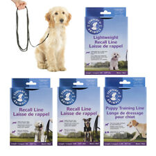 COA Long Recall House Training Line Leash Light Lead Puppy Dog 2.5m 5m 10m