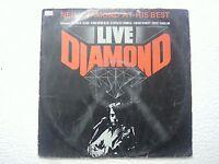 NEIL DIAMOND LIVE DIAMOND RARE LP record vinyl INDIA INDIAN