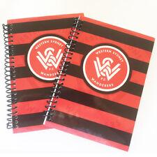 Western Sydney Wanderers FC 2 x Spiral Bound A5 Notebooks