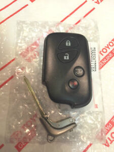 *NEW OEM LEXUS REMOTE SMART KEY FOB TRANSMITTER & BLADE GS460 ISF IS350 RX350