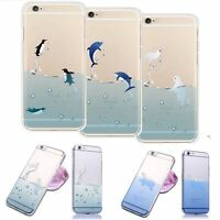 """Cute Clear Ultra Thin Phone Case Cover Skin For Iphone 5/5s 6/6 Plus 4.7""""/5.5"""""""