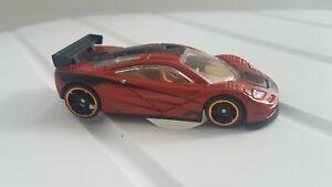 hot wheels speed machines mclaren f1 gtr dark orange