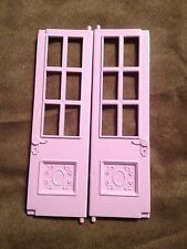 FISHER PRICE LOVING FAMILY TWIN TIME DOLL HOUSE UPSTAIRS REPLACEMENT DOORS
