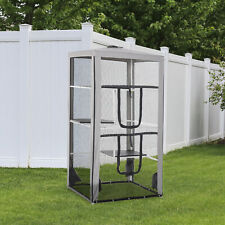 Large Outdoor Cat Enclosure Kitten House Pet Playpen w/ 3 Platforms 4 Sandbags
