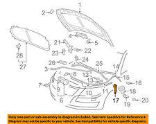 VW VOLKSWAGEN OEM 09-16 CC Hood-Latch Lock Release Handle Lever 1J1823533C82V