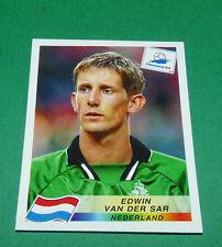 N°301 EDWIN VAN DER SAR NEDERLAND PANINI FOOTBALL FRANCE 98 1998 COUPE MONDE WM