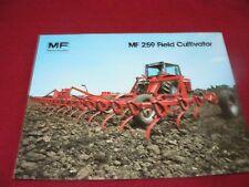 Massey Ferguson 259 Field Cultivator Dealer's Brochure 863AG 2-81-25-1