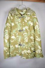 Oakley Womens Winter Jacket Snowboard Ski Coat Hoodie Green Camouflage XS