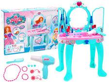 Coiffeuse petite princesse jeu set accessoires pour petite fille