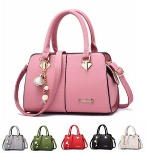 Women Leather Handbags Messenger Shoulder Bag Lady Tote Purse Crossbody Satchel