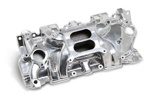 WEIAND SBC Action Plus Intake Manifold - Polished P/N - 8120P