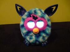 Furby Boom Diamond Blue Purple Pink Eyes EUC Plush Interactive Toy Fur Clean