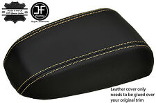 BEIGE STITCHING REAL LEATHER ARMREST LID COVER FITS KIA CERATO 2004-2008