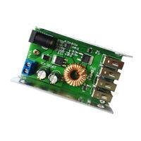 Mobilephone Smart charging Module DC-DC 9-35V to 5V Buck Regulator 4USB Port