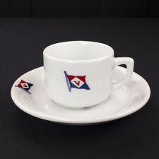 Venture Shipping Managers Ltd Hong Kong Steamship Maritime Cup & Saucer 1980s