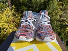NWT Adidas Ultraboost X Missoni Shoes Size 8 Clima W Cloud White Shock Cyan Red