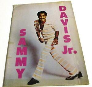Sammy Davis Jr.- Publicity book-circa1970s black white pics profusely illus