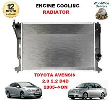 FOR TOYOTA AVENSIS 2.0 2.2 D4D D-CAT 2005-->ON ENGINE COOLING RADIATOR