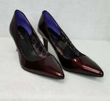 Nine West Women's Shoes Platform Heels Burgundy 7M