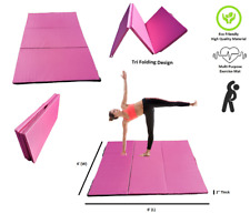 "4'×6'×2"" Folding Gym Exercise Mat Yoga Mat Gymnastics Aerobics Stretching Tumble"