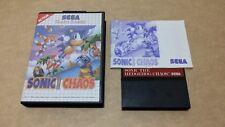 Sonic The Hedgehog Chaos (Sega Master System) Versión Europea