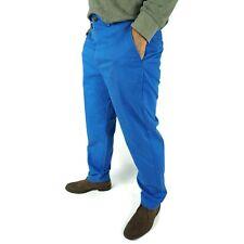 Brooks Brothers Mens Clark Soft Twill Chino Pants 36 x 32 Blue Straight Cotton