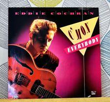 EDDIE COCHRAN - C'Mon Everybody [Vinyl 12 Inch EP,1988] Dutch Import Mono *EXC