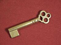 Skeleton Bit Key Vintage / Antique Furniture Lock Doors Drawers Padlock ab24