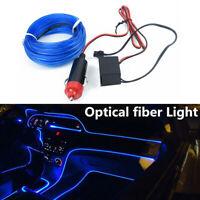4 metri per auto LED Wire Light Lamp Strip Luce interna per atmosfera 12V