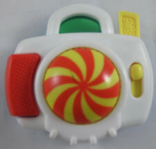 McDonald's Fisher-Price Toddler Toys Under 3 White/Blue Flash Camera OOP 1997-98