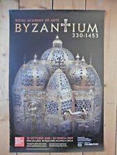 Original RA Poster Byzantinum 330-1453