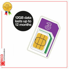 Three Data Sim - Internet With Legs 12GB Trio Sim Lasts For Up To Twelve Months