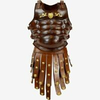 ROMAN GREEK KNIGHTS LEATHER MUSCLE BODY ARMOR SCA ARMOUR CHESTPLATE BREASTPLATE