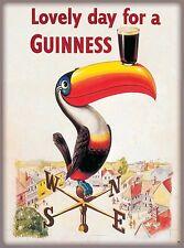 Lovely Day Guinness Beer Ireland Great Britain Vintage Travel Art Poster Print