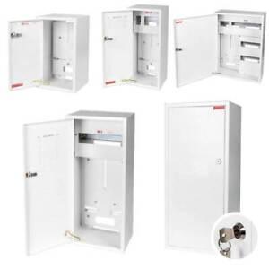 Zählerschrank Sicherungskasten Verteilerkasten AUFPUTZ 1-3 PHASEN IP30