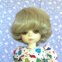 Global TRACY Blond Size 9-10 Full Cap Short Wavy Bob, Unisex, Girl, Boy