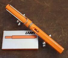 Lamy Safari Orange DOT CAP limitierte Auflage 2009 Feder F NOS unbenutzt RARITÄT