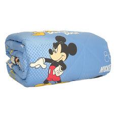 Trapunta Piumone invernale Disney Mickey Club Caleffi singolo azzurro L834