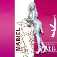 NOUVEAU 1/35 Beautiful Girl Soldier Static Unpainted Kit Resin Figure Model