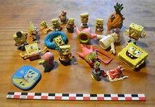 Lot de 21 figurines et autres dérivés de Bob l'Eponge, Sponge Bob, lot varié...