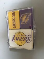 LOS ANGELES LAKERS ~ COLLECTOR MAGNET SET ~ 3 LAKERS MAGNETS, NEW