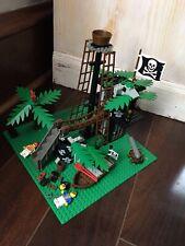 LEGO 6270 Pirates Forbidden Island 1989 Set complete, no instructions, Half Figs